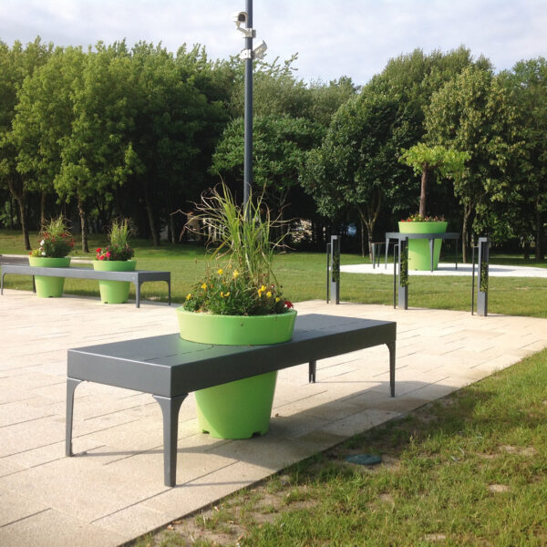 ATECH-ALINEA-Single-backless-bench
