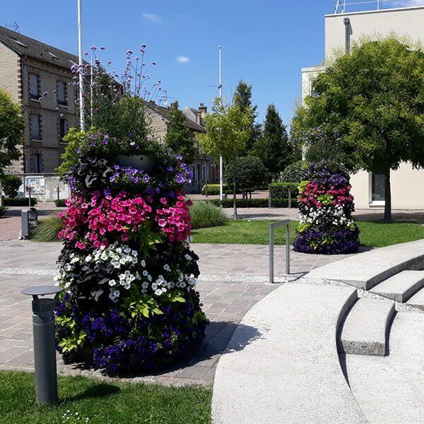 Flowering columns