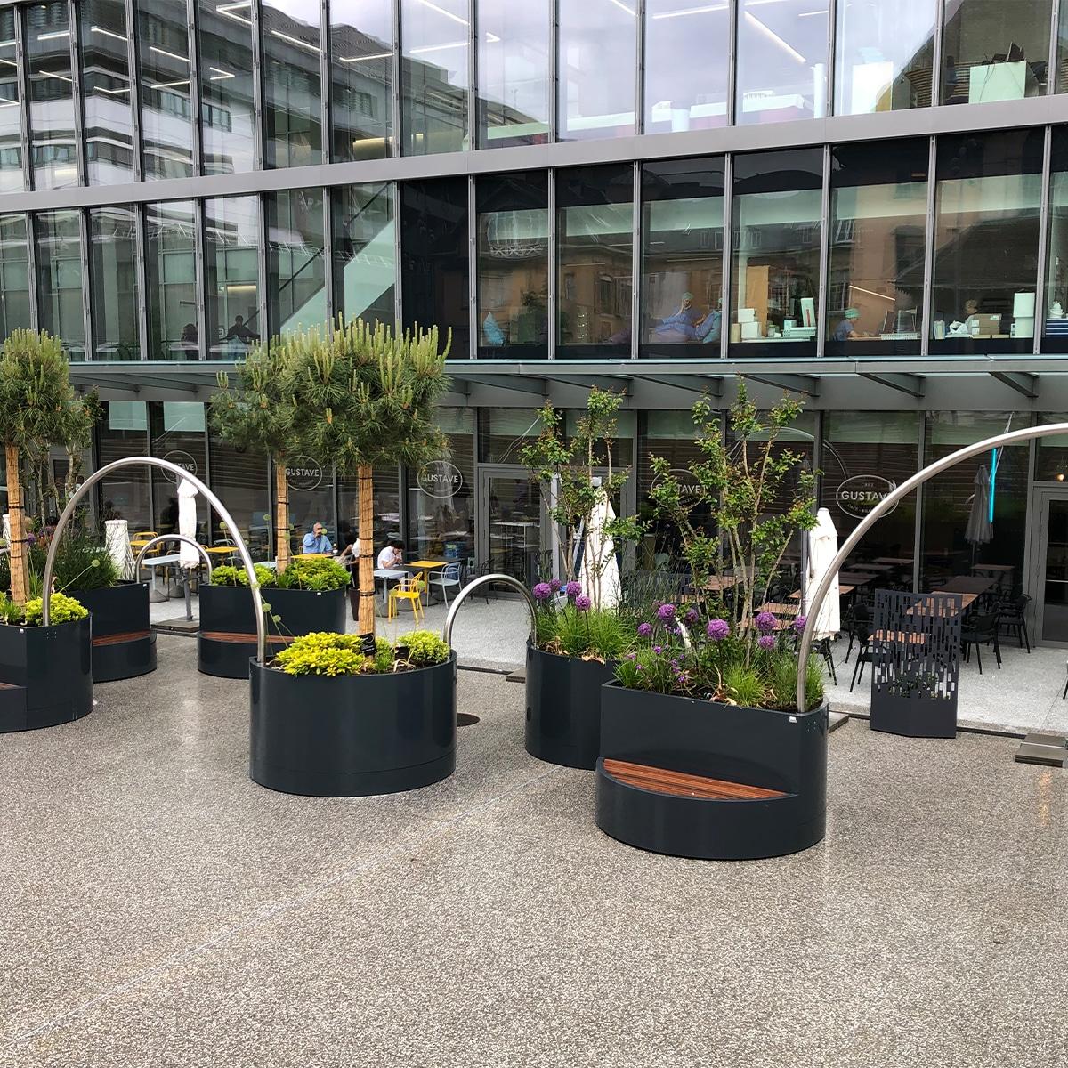 ATECH-bespoke-planters-swiss-hospital